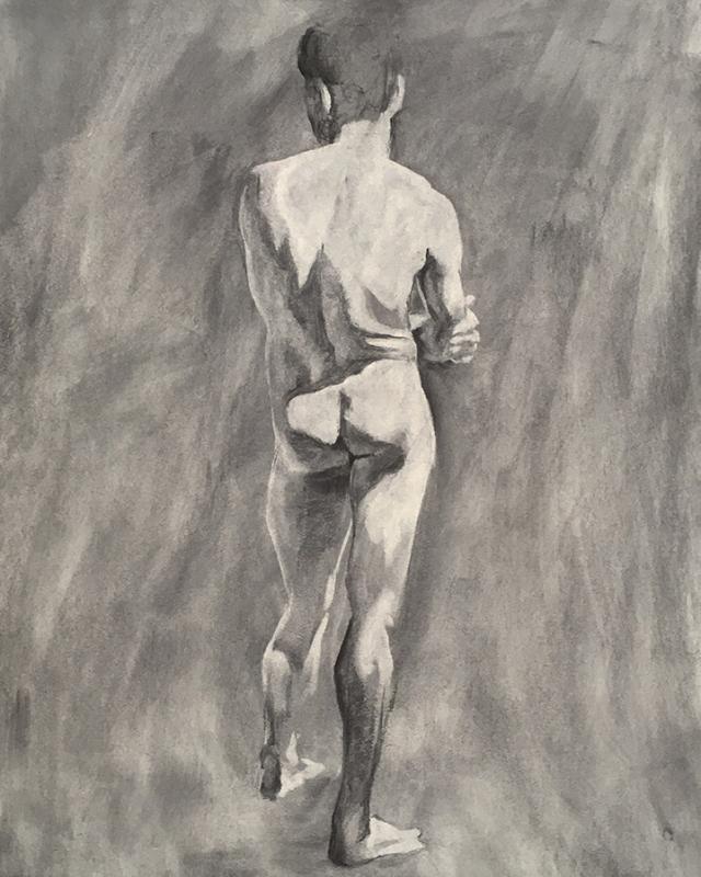 David 40-minute drawing