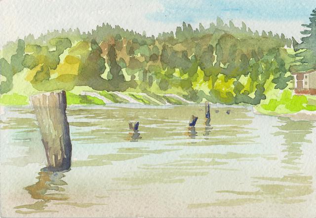 Plein Air Watercolors